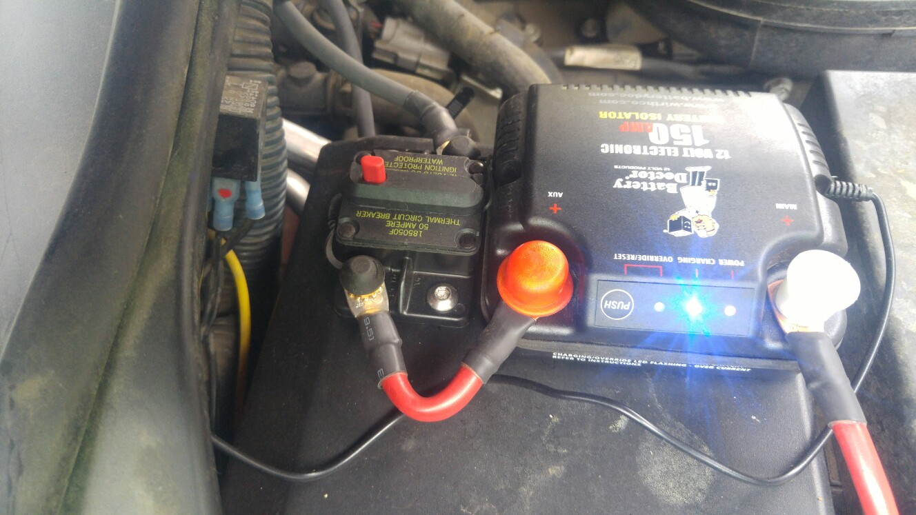 Auxiliary Battery For Refrigerator | Unofficial Camp-Inn Forum