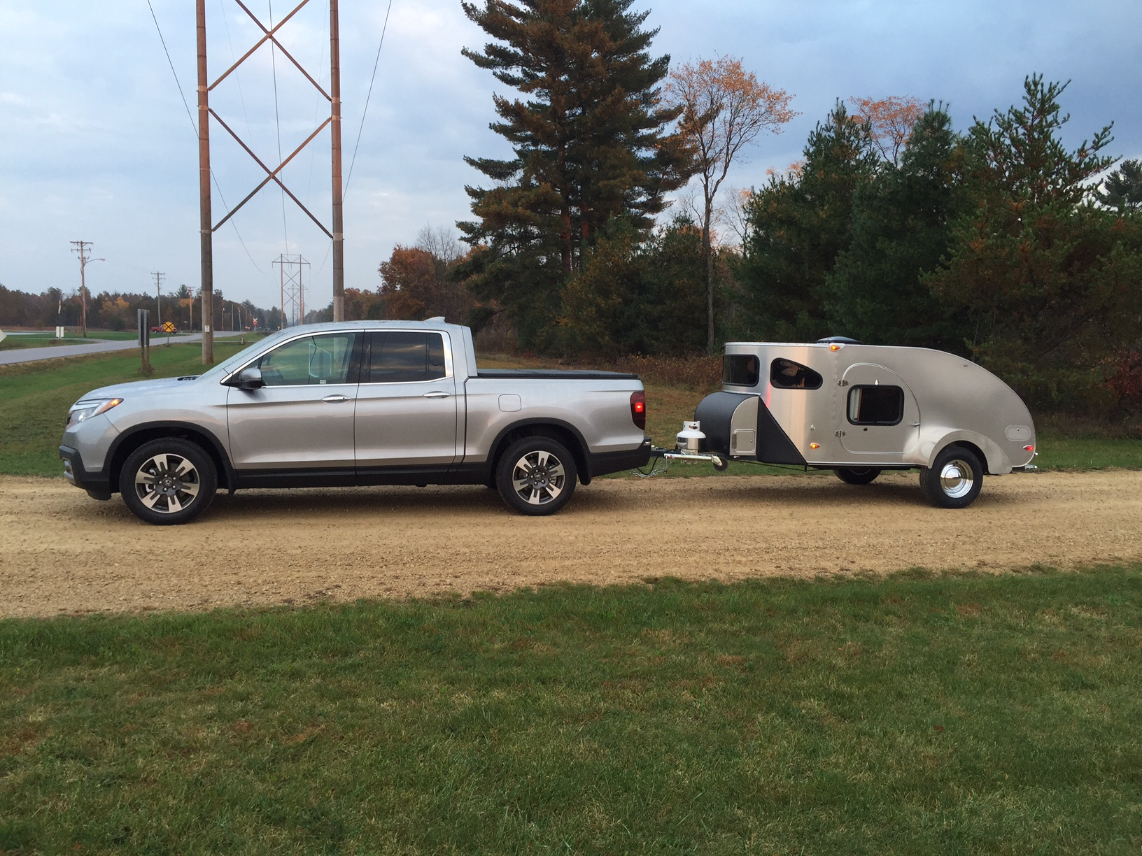 My tow vehicle is a 2017 Honda Ridgeline RTL-E, and since this is a newly  redesigned truck that others are considering for a tow vehicle, I figured  this was ...